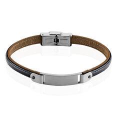Bracelet Lucien Acier Blanc - Bracelets Homme | Marc Orian