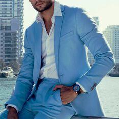 Montre Montignac S Automatique Bleu - Montres automatique Homme   Marc Orian