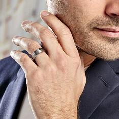 Bague Jume Blanc - Bagues Homme | Marc Orian