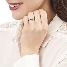 Bague Gulay Or Blanc Saphir Et Diamant - Bagues Solitaire Femme | Marc Orian
