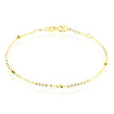 Bracelet Chaine Boules Alternees Or Jaune - Bracelets chaînes Enfant | Marc Orian