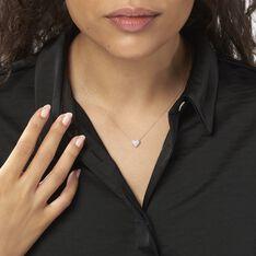 Collier Ti Amo Or Blanc Diamant - Colliers Femme | Marc Orian