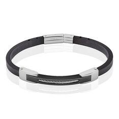 Bracelet Jeremy Acier Blanc - Bracelets Homme | Marc Orian