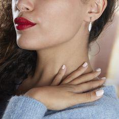 Boucles D'oreilles Pendantes Euriell Argent Rhodié - Boucles d'oreilles Pendantes Femme | Marc Orian