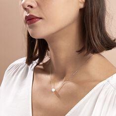 Collier Sissy Or Blanc Perle De Culture - Parure de mariage Femme | Marc Orian