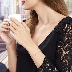 Bracelet Argent Rhodie Maille Venitienne - Bracelets chaînes Femme | Marc Orian