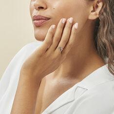 Bague Aline Or Blanc Diamant - Bagues Femme | Marc Orian