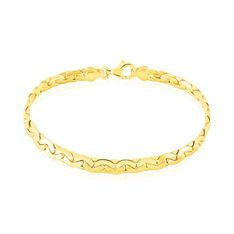 Bracelet Ivy Maille Haricot Or Jaune - Bracelets mailles Femme | Marc Orian