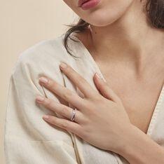 Bague Elorie Argent Blanc Oxyde De Zirconium - Bague fantaisie Femme | Marc Orian