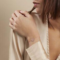 Bracelet Coeur Gravable Or Rose - Bracelets chaînes Femme | Marc Orian