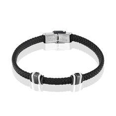 Bracelet Acier Cordon Nautique Maillons - Bracelets cordons Homme | Marc Orian