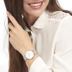 Montre Daniel Wellington Classic Petite Sterling Blanc - Montres Femme | Marc Orian