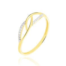 Bague Balentina Or Jaune Diamant - Bagues Femme | Marc Orian