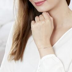 Bracelet Lisa Or Jaune Et Diamants - Bracelets chaînes Femme | Marc Orian