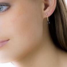 Boucles D'oreilles Pendantes Goutte Or Jaune Saphir - Boucles d'oreilles Pendantes Femme | Marc Orian