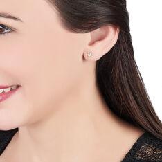 Boucles D'oreilles Puces Or Jaune  - Clous d'oreilles Unisexe | Marc Orian