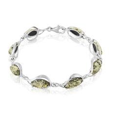Bracelet Argent Ambre - Bracelets chaînes Femme | Marc Orian