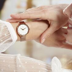 Coffret De Montre Pierre Lannier Coffret Eolia Blanc - Montres classiques Femme | Marc Orian