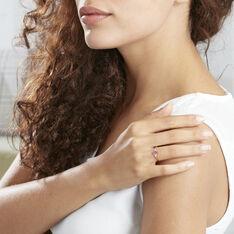 Bague Solitaire Ludmilla Or Jaune Rubis Et Diamant - Bagues Femme | Marc Orian