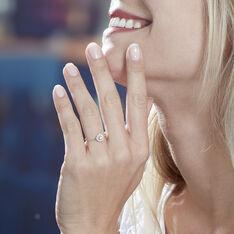 Bague Charletta Or Jaune Diamant - Bagues Femme | Marc Orian