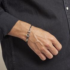 Bracelet Leo Paul Acier Blanc - Bracelets Homme | Marc Orian