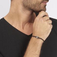 Bracelet Fabrice Acier Blanc - Fête des pères Homme   Marc Orian