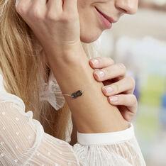 Bracelet Alicia Argent Rhodié Infini  - Bracelets chaînes Femme | Marc Orian