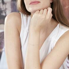 Bracelet Or Blanc Art Deco - Bracelets chaînes Femme | Marc Orian