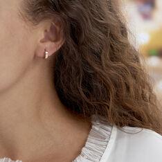 Créoles Markus Plaque Or Jaune - Boucles d'oreilles Créoles Famille | Marc Orian