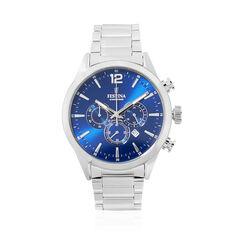 Montre Festina Timeless Chronograph Bleu - Montres sport Homme   Marc Orian