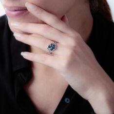 Bague Orchidee Or Blanc Saphir Diamant - Bagues Femme | Marc Orian
