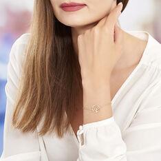 Bracelet Plaque Or Jaune Laora - Bracelets chaînes Femme | Marc Orian