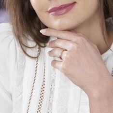 Bague Suzie Or Rose Diamant - Bagues Femme | Marc Orian