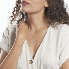 Pendentif Darel Or Jaune Oxyde De Zirconium - Pendentifs Femme | Marc Orian