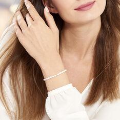 Bracelet Ciriola Or Jaune Perle De Culture - Bracelets chaînes Femme | Marc Orian