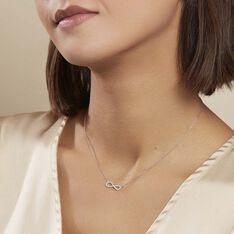Collier Veda Argent Blanc Oxyde De Zirconium - Colliers Femme | Marc Orian