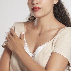 Collier Arbre De Vie Argent Rose - Colliers Femme   Marc Orian