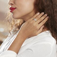 Bague Bague Or Blanc Diamant - Bagues Femme | Marc Orian
