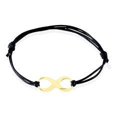 Bracelet Infini Or Jaune - Bracelets cordons Femme | Marc Orian