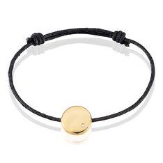 Bracelet Ignacieae Plaque Or Jaune Diamant - Bracelets fantaisie Femme   Marc Orian