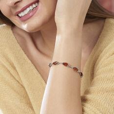 Bracelet Argent Ambres Ovales - Bracelets chaînes Femme | Marc Orian