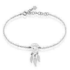 Bracelet Catchy Argent Blanc - Bracelets chaînes Femme | Marc Orian