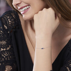 Bracelet Or Et Saphir - Bracelets chaînes Femme | Marc Orian