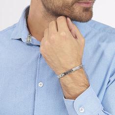 Bracelet Julien Acier Blanc - Bracelets Homme | Marc Orian