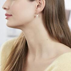 Boucles D'oreilles Or Perle De Culture - Boucles d'oreilles Créoles Femme | Marc Orian