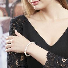 Bracelet Merrane Or Jaune Perle De Culture - Bracelets chaînes Femme   Marc Orian