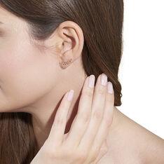 Bijoux D'oreilles Eloiza Or Jaune Oxyde De Zirconium - Boucles d'oreilles Ear cuffs Femme | Marc Orian
