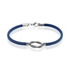 Bracelet Erwan Acier Blanc - Bracelets cordons Homme | Marc Orian