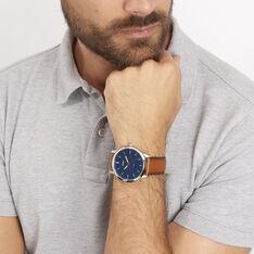 Montre Fossil Minimalist Bleu - Montres classiques Homme   Marc Orian