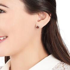 Boucles D'oreilles Pendantes Franjo Argent Blanc Ambre - Boucles d'oreilles Pendantes Femme | Marc Orian